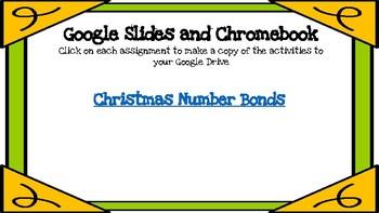 Christmas Number Bonds-A Digital Math Center