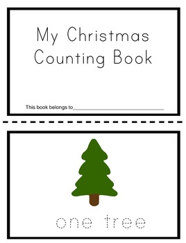 Christmas Number Book
