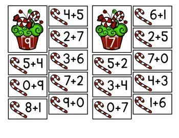 Christmas Number Combinations FREE!