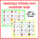 Christmas Number Fact Dominoes: Set 3 ~ Maths Game for 3rd