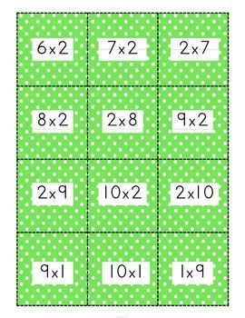 Christmas Number Fact Game {Addition & subtraction to 20}