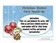 Christmas Number Form Match-up Math Center Activity