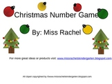 Christmas Number Games Common Core