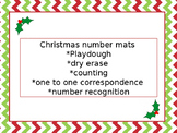Christmas Number Mat