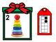 Christmas Number Match 1-20 / December Math Center