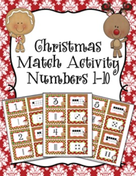 Christmas Number Match Activity