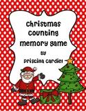 Christmas Counting Memory Game