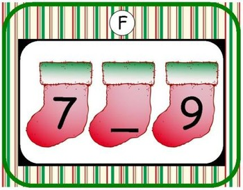Christmas Number Order 0-10