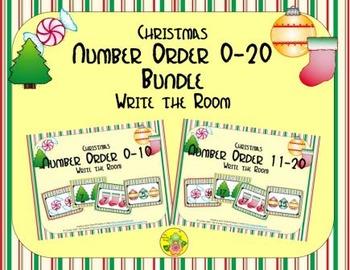 Christmas Number Order 0-20 Bundle