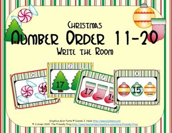 Christmas Number Order 11-20