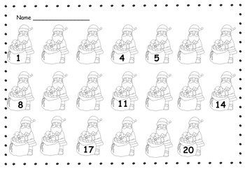 Christmas Number Order