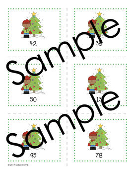 Christmas - Number Ordering