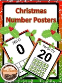 Christmas Number Posters