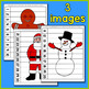 Christmas Number Puzzle - A Christmas Math Center for Earl