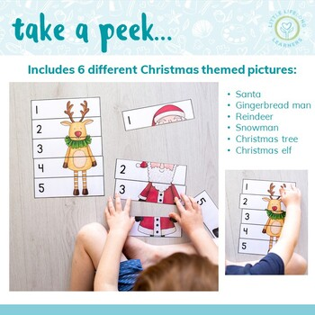 Christmas Number Puzzles - 0 to 5