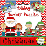 Christmas Activity ~ Number Puzzles for Christmas