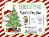 Christmas Number Puzzles 1-10 & 11-20 K.CC.1