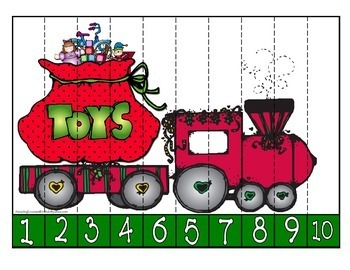 Christmas Number Puzzles