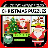 Christmas Number Puzzles 1-20 plus Skip Counting Puzzles
