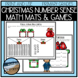 Christmas Number Sense Activites and Dice Games