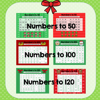 Christmas Number Sense- Activities for the Digital Classroom