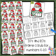 Christmas 0-20 Tens Frame Number Sense Activity for math center or scoot game