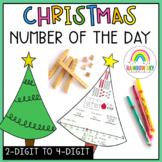 Christmas Number Sense Math lesson
