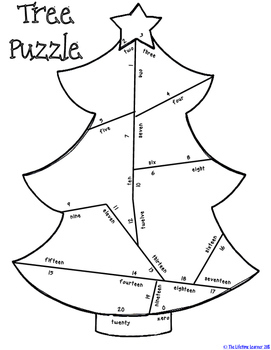 Christmas Number Sense Puzzles