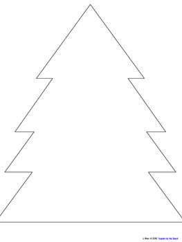 Christmas Number Sense Tree