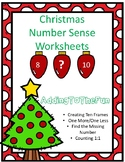 Christmas Number Sense Worksheets