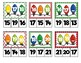 Christmas Number Sequencing Clip Cards