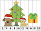 Christmas Number Sequencing Puzzles -Freebie