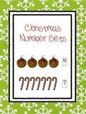 Christmas Number Sets - Count and Paste / Write
