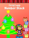 Christmas Number Stack