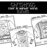 Christmas Number Words