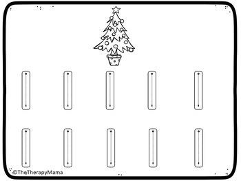 Christmas Number Handwriting