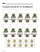 Math Worksheet for Christmas - Numbers 0-9 (Supports the Common Core!)