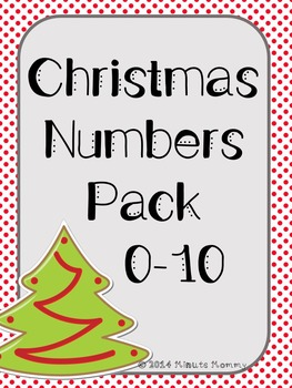 Christmas Numbers Pack (0-10)
