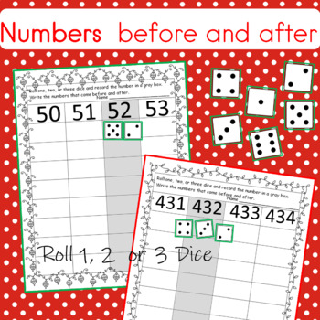 Christmas Numbers That Come Before and After