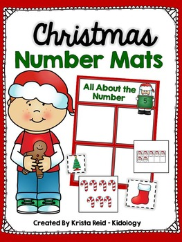 Christmas Numbers and Counting Activity