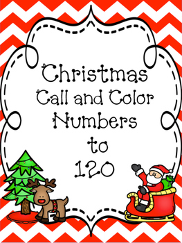 Christmas Numbers to 120 Five Pack