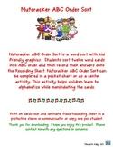 Christmas Nutcracker ABC Order
