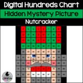 Christmas Nutcracker Hundreds Chart Hidden Picture Activity for Math