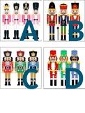 Christmas-Nutcracker Themed Alphabet & Number Cards