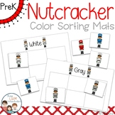Christmas Nutcrackers Color Sorting Mats and Worksheets