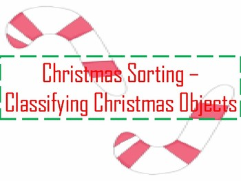 Christmas Object Classifying