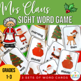 Christmas Sight Word Game Old Maid (Mrs Claus)