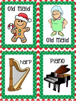 Christmas Old Maid (Instruments)