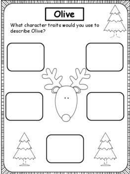 Christmas: Olive, The Other Reindeer and Expository Text about Reindeer