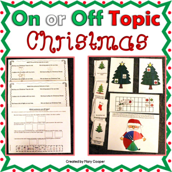Teaching the Terms On or Off Topic: Christmas Edition